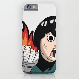 Burn Lee iPhone Case