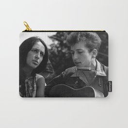 Bob Dylan and Joan Baez at the March on Washington, 1963 Carry-All Pouch