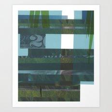 Lawn study 4 Art Print