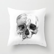 Skull 46 Throw Pillow