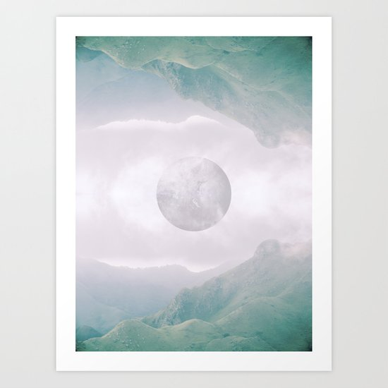 Mountain Daydream Art Print