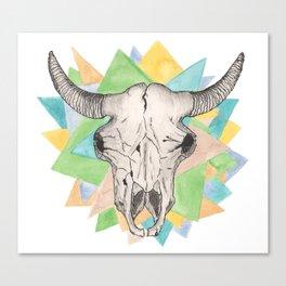 Geo Skull Canvas Print