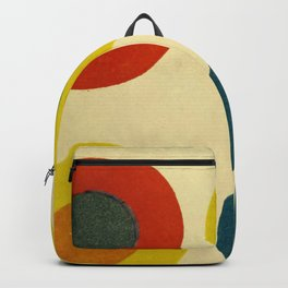 Contrast Circles Backpack