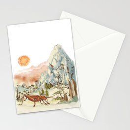 Giant Grasshoppers in China Stationery Cards