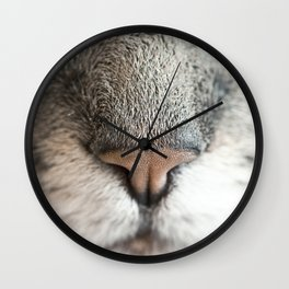 Extreme Nose-up Wall Clock