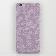Faded Desert Floral iPhone & iPod Skin