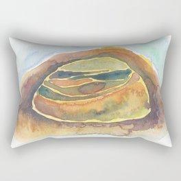 Desert Layers Rectangular Pillow