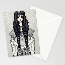Glass and Frost Stationery Cards