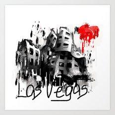 I love Las Vegas Art Print