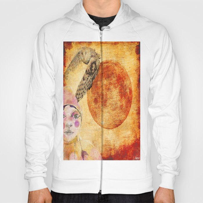 Shelsea and the red moon  Hoody