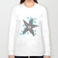 starfish Long Sleeve T-shirts featuring starfish by Graphéides