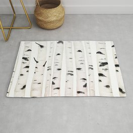 birch horizontal Rug