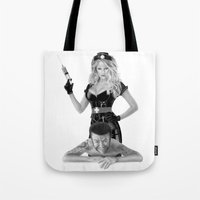 medicine Tote Bags featuring Bad medicine by Giampaolo Casarini