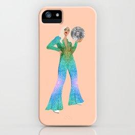 Disco Girl iPhone Case