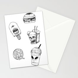 Monster Food Stationery Cards