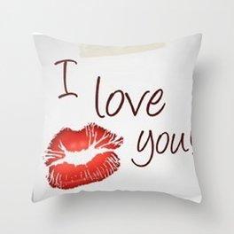 Love San Valentine Throw Pillow