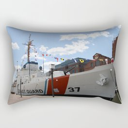 Coast Guard 37 Baltimore Harbor Rectangular Pillow