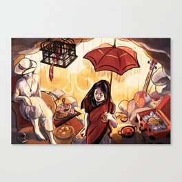 In the Cavemouth Canvas Print