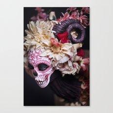 April Blossom Muertita Side Canvas Print