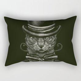 Classy Cat Rectangular Pillow