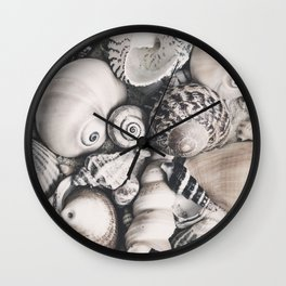 Sea Shell Collection Vintage Style Wall Clock