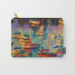 Morning Sailboats Carry-All Pouch