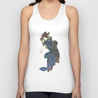 japanese Tank Tops featuring japanese by Maria Durgarian