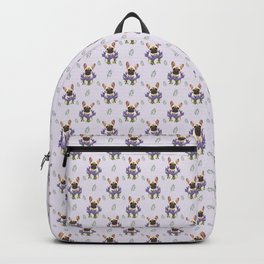 French bulldog and lavender Backpack