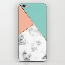 Marble Geometry 056 iPhone Skin