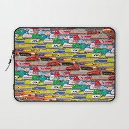 Locomotives - Rainbow by Railcolor Laptop Sleeve
