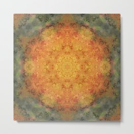 Awesome ball of fire Metal Print