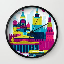 Moscow Wall Clock