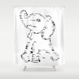 Elephant # 12 Shower Curtain