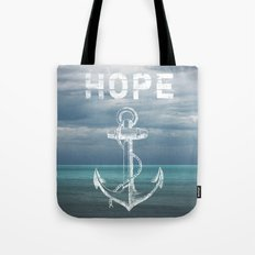 Hope Anchor Tote Bag
