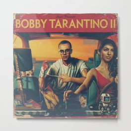 BOBBY TARANTINO II - LOGIC Metal Print