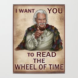 I Want You to read the Wheel of Time Poster