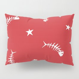Star Fish (red) Pillow Sham