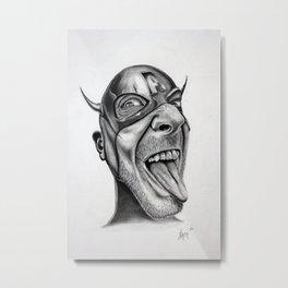 Cap America Metal Print
