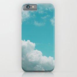 Bouncy Clouds Over Galveston Texas iPhone Case