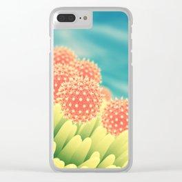 Pollen allergy Clear iPhone Case