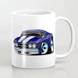Classic American Muscle Car Cartoon Coffee Mug