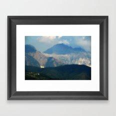 Appennino Ligure Framed Art Print