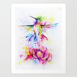 La Vie en Rose I Art Print