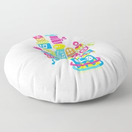 Don't Give Up! Floor Pillow