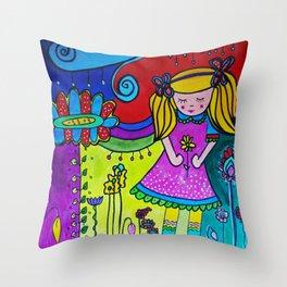 Shilou Dreaming Throw Pillow