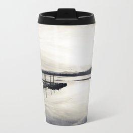 Pwllheli Marina - Mirror Reflection 02 Travel Mug