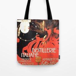 Vintage poster - Distillerie Italiane Tote Bag