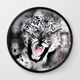 Loepard Wall Clock