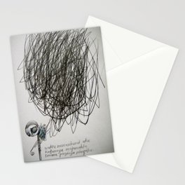 time, city and lost dream Stationery Cards