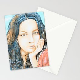 Norah Jones Mural Stationery Cards